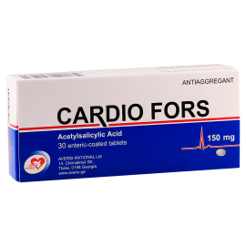 Cardio fors 150mg #30t